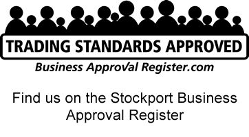 Out and About Carpets Stockport on the Business Approval Register