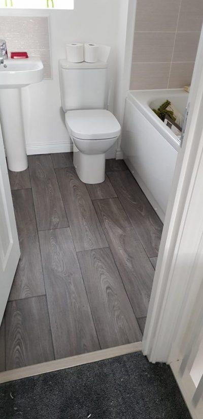 Laminate Flooring for bathroom