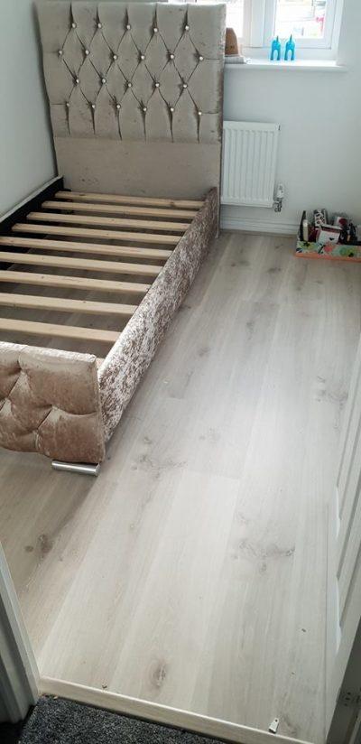 Laminate flooring for sapre bedroom