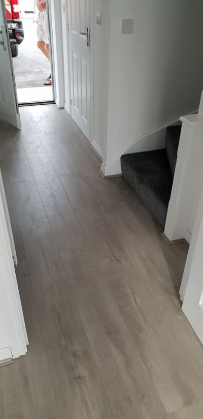 Quick-Step Laminate Flooring in Hazel Grove hallway