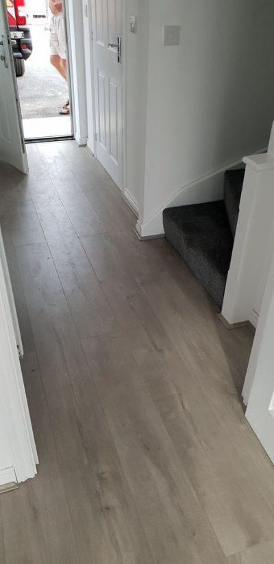 Quick-Step Laminate Flooring in Hazel Grove hallway