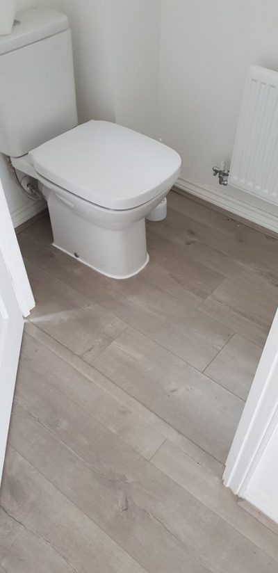 Laminate Flooring for Downstairs toilet