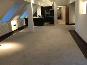 Loft apartment lugano carpet