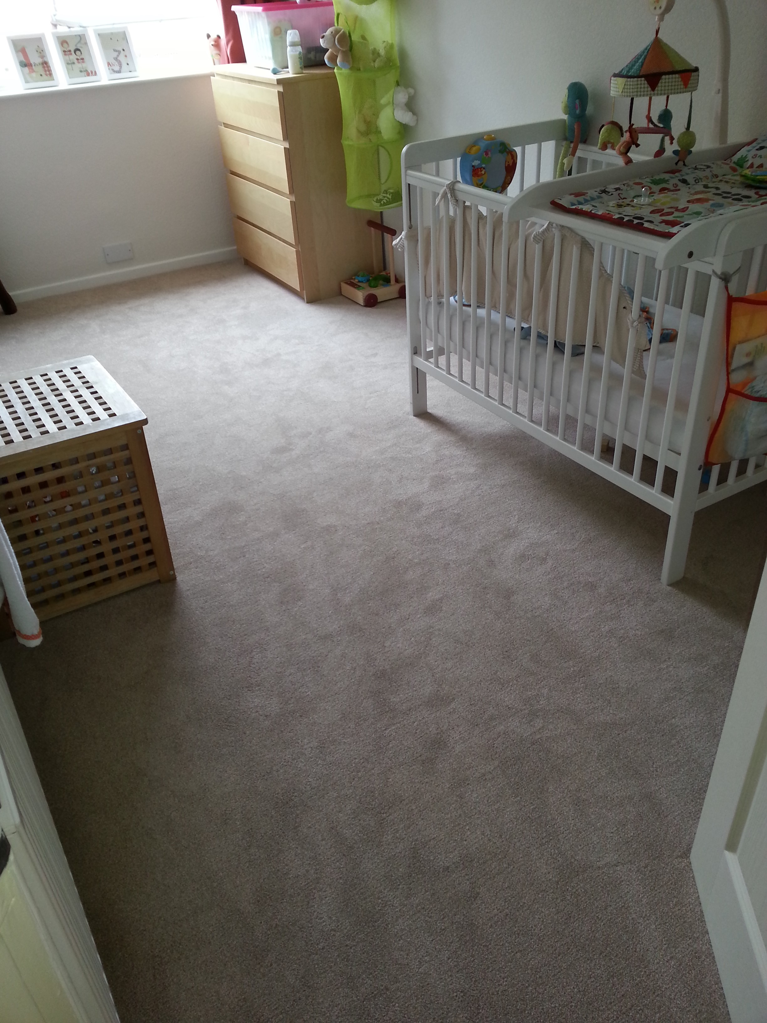 The ideal carpet for Nursery